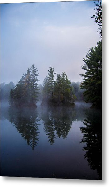 As The Fog Rolls In Metal Print
