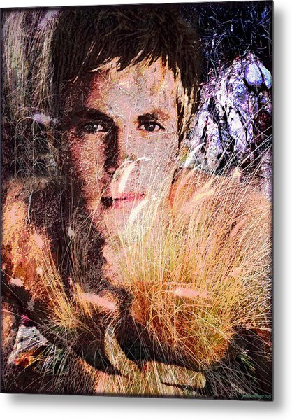 As The Grass Ripens In The Summer Sun Metal Print