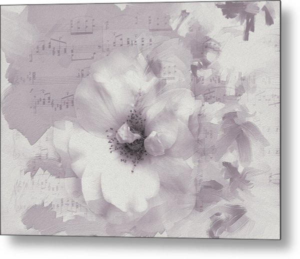 As The Music Fades Metal Print