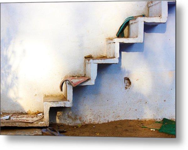 Ascending Staircase Metal Print
