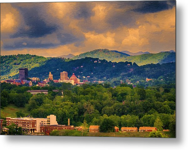 Asheville North Carolina Metal Print