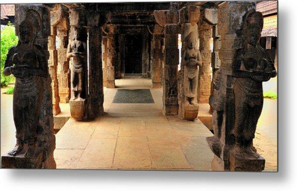 Asia, India, Tamil Nadu, Padmanabhapuram Metal Print by Steve Roxbury