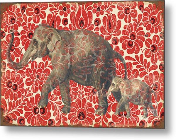Asian Elephant-jp2185 Metal Print