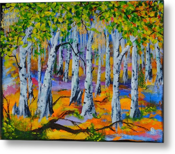Aspen Friends In Walkerville Metal Print