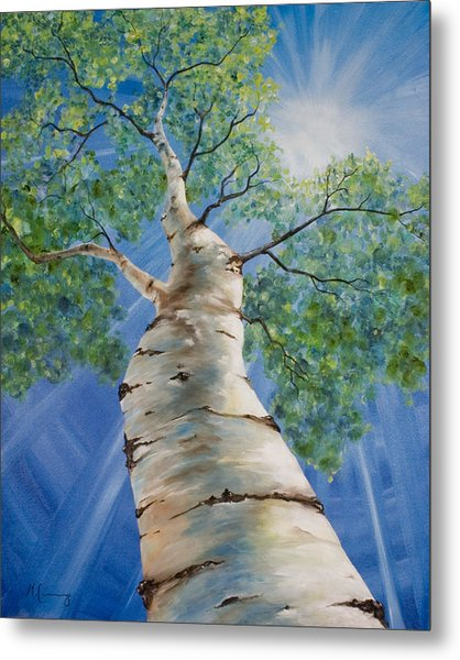 Aspen Light Metal Print