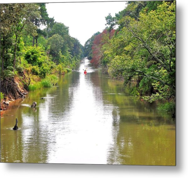 Assawoman Canal - Delaware Metal Print