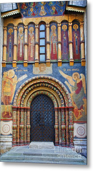 Assumption Cathedral Entrance Metal Print