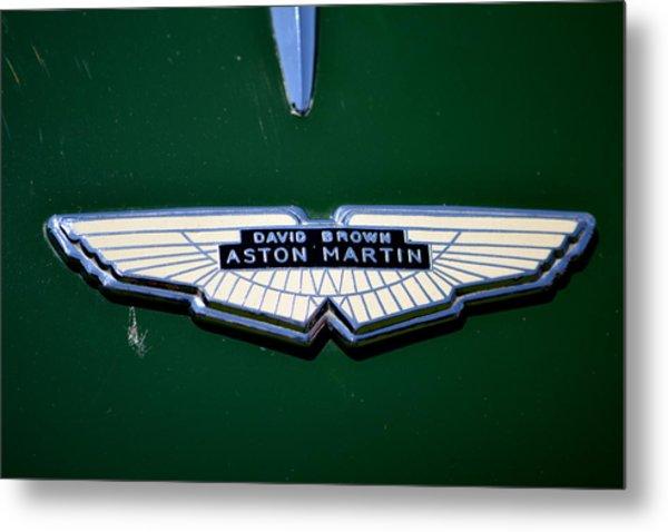 Aston Martin Badge Metal Print