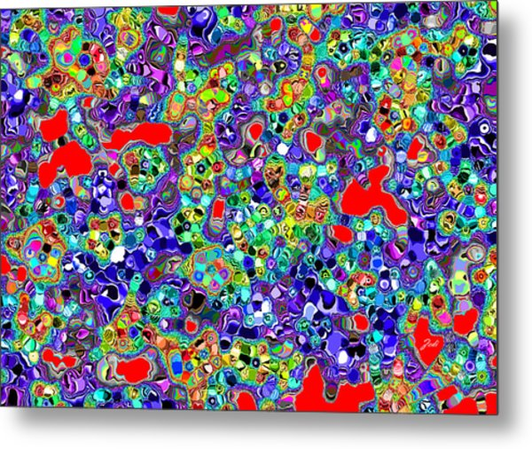 Astratto - Abstract 22 Metal Print