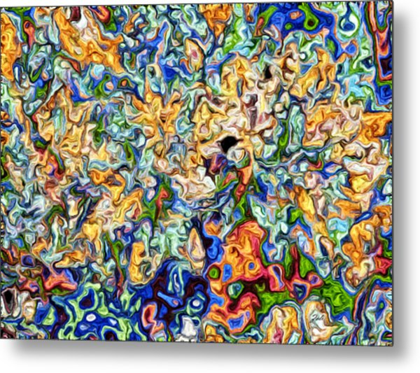 Astratto - Abstract 23 Metal Print