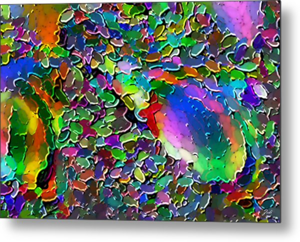 Astratto - Abstract 25  Metal Print