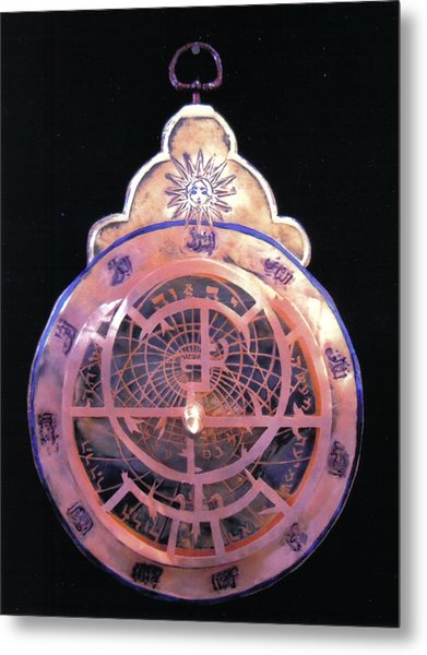 Astrolabe Prayer Metal Print