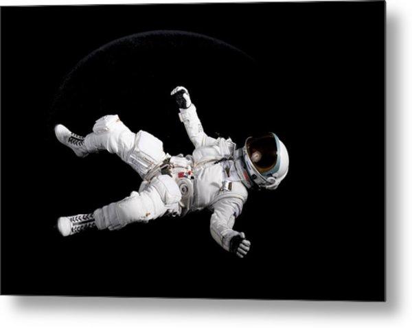 Astronaut Floating Metal Print by Rick Partington / EyeEm