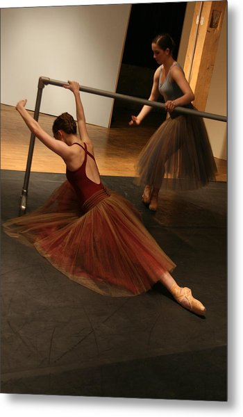 At The Barre Metal Print by Kate Purdy