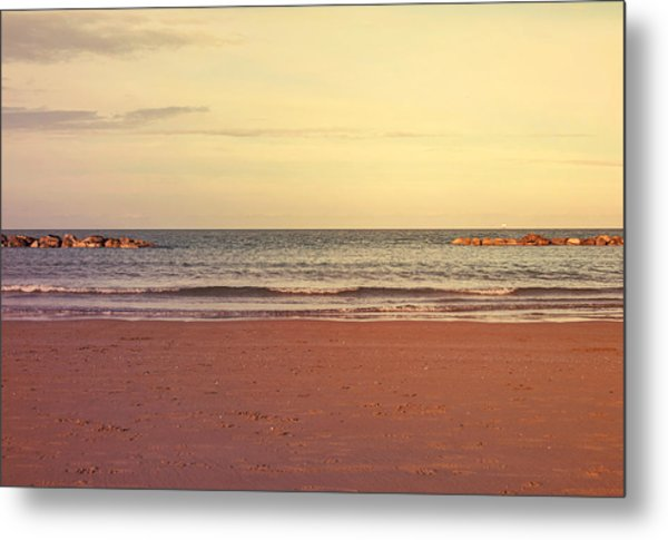 At The Beach Metal Print by Andrea Mazzocchetti