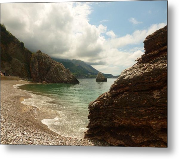At The Cove Metal Print