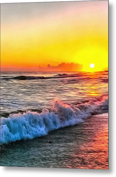 At The End Of The Day Metal Print