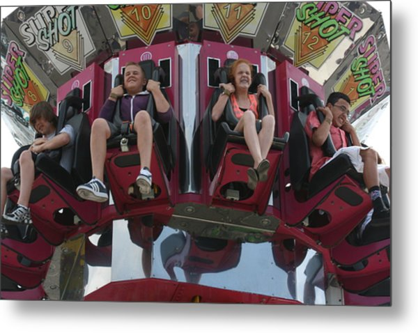 Metal Print featuring the photograph At The Fair by Cynthia Marcopulos