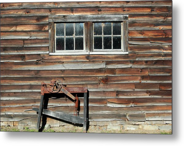 At The Farmers Market 2 Metal Print by Mary Bedy