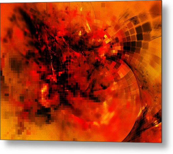 At The Heart Of It All Metal Print