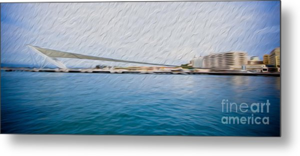 At The Pier In San Juan Puerto Rico Metal Print