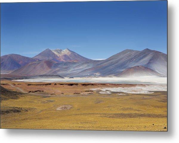 Atacama Hills Metal Print