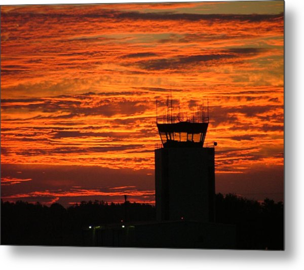 Atc Tower 001 Metal Print