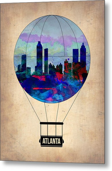 Atlanta Air Balloon  Metal Print