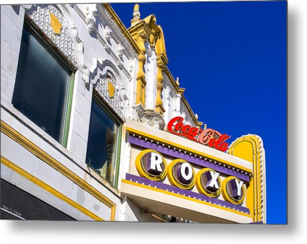 Atlanta Roxy Theatre Metal Print