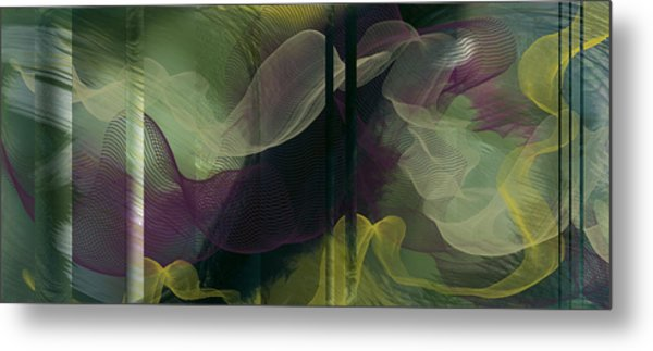 Atlantian Scarves Metal Print
