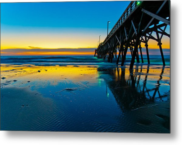 Metal Print featuring the photograph Atlantic Blue by Francis Trudeau