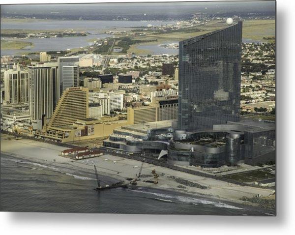 Atlantic City Casinos Metal Print