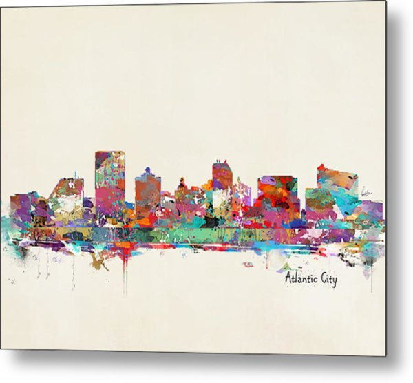 Atlantic City New Jersey Metal Print