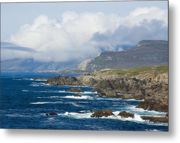 Atlantic Coast Achill Island Metal Print