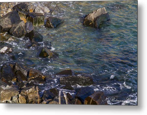 Atlantic Ocean Maine Metal Print