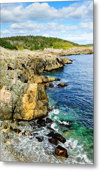 Atlantic Shoreline Metal Print