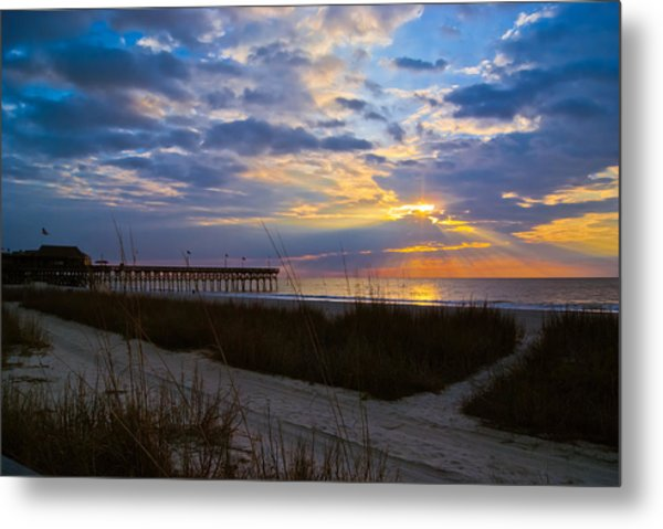 Metal Print featuring the photograph Atlantic Sunrise In March by Francis Trudeau