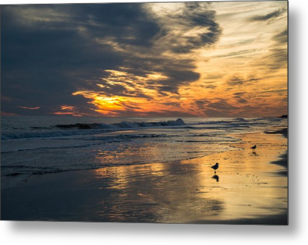 Atlantic Sunset Metal Print
