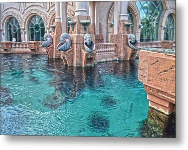 Atlantis Resort In The Bahamas Metal Print