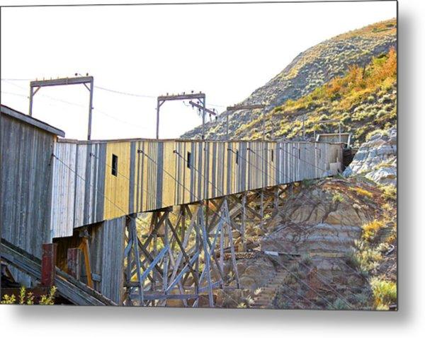 Atlas Coal Mine Fall Metal Print
