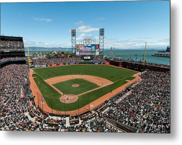 Att Park On Mothers Day Metal Print