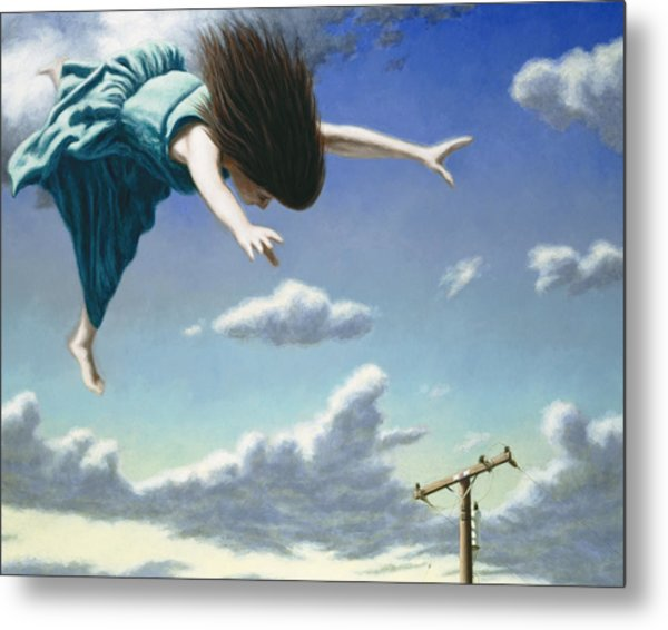 Attempts At Flight #19 Metal Print