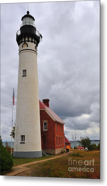 Au Sable Point Light Metal Print