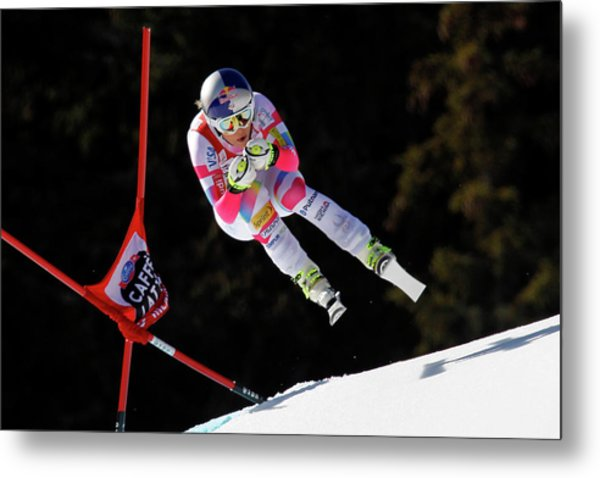 Audi Fis Alpine Ski World Cup - Womens Metal Print by Alexis Boichard/agence Zoom
