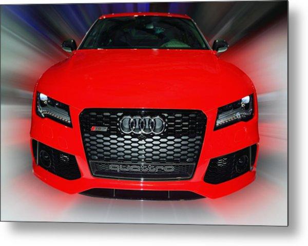 Audi Quattro Rs7 2014 Metal Print