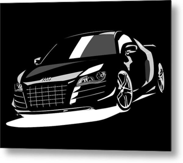 Audi R8 Metal Print