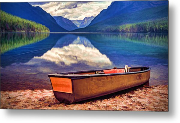 August Afternoon At The Lake Metal Print