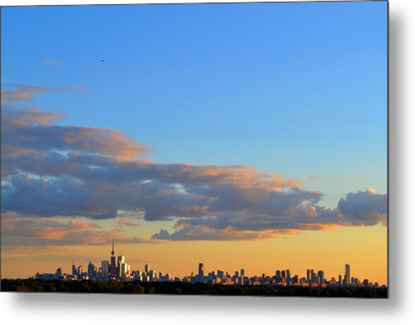 August Early Evening Toronto 4  Metal Print by Lyle Crump