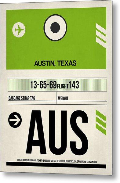 Austin Airport Poster 1 Metal Print