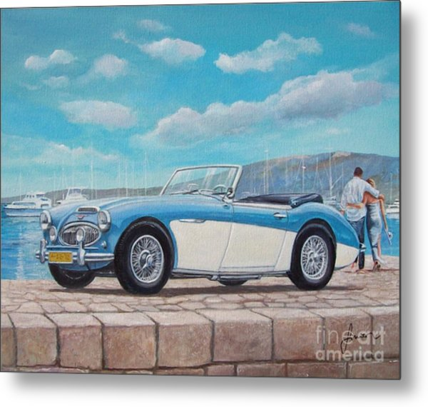 Austin Healey Bj8 Mark IIi Metal Print